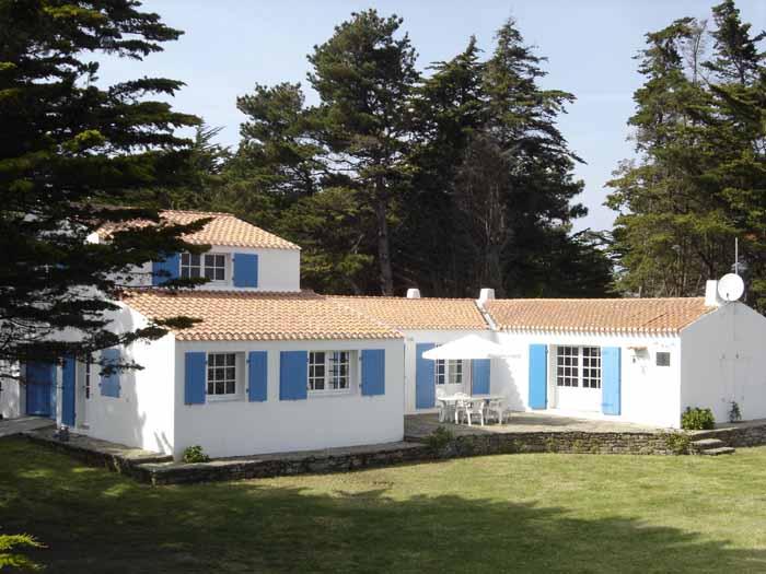 Location villa ile d 39 yeu villa de vacances sur l 39 le d 39 yeu - Maison a louer ile d yeu ...